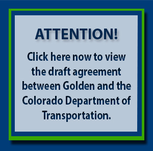 Golden & CDOT Draft Agreement